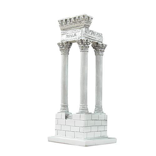 AZBYC Tempel, Dekoration, Antiken Römischen Architektur - Modell, Kreativ - Dekoration Wohnaccessoires