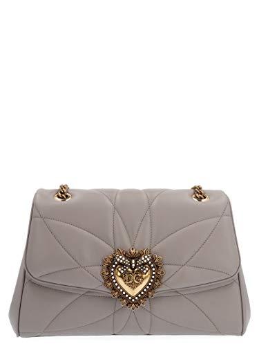 Luxury Fashion | Dolce E Gabbana Donna BB6728AV9678H062 Grigio Borsa A Spalla | Autunno Inverno 19
