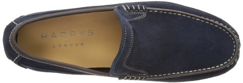 Harrys of London Driving Moc 2 Kudu Herren Slipper Midnight