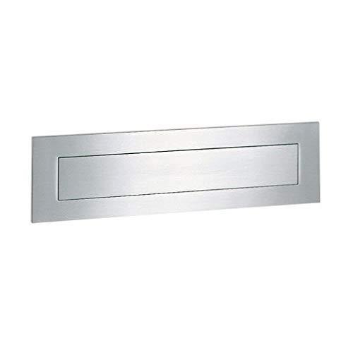 Serafini Briefeinwurf L 400 mm - Edelstahl V4A 8 x 40 x 0,3 cm