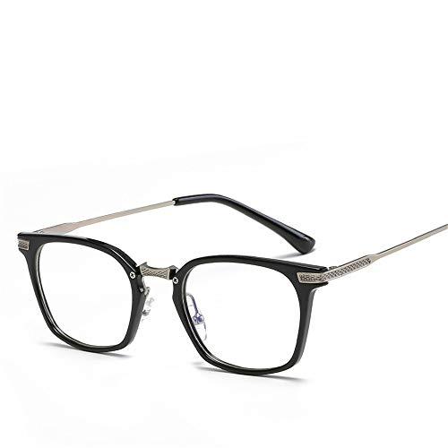 Sonnenbrillen Mode Flat Light Box Blue Glasses Men und Women LUE Shading Glasses für Sutdents/Büroangestellte