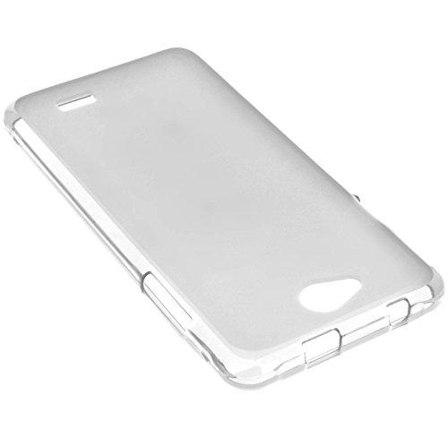 Coque Silicone Gel Incassable pour Logicom L-ement 551 - Transparente