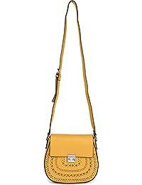 styleBREAKER Umhängetasche mit Ethno Cut Out Muster, Handtasche, Schultertasche, Tasche, Damen 02012229