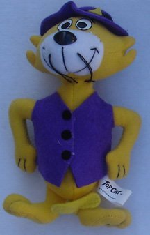 top-cat-hanna-barbera-dairy-queen-2000-kids-meal-series2-plush-figure-unopened-by-dairy-queen