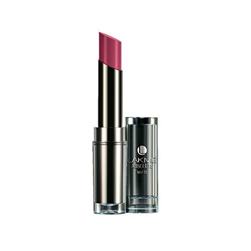 Lakme  Absolute Matte  Lipstick, Mauve Fix, 3.7 g