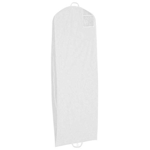 Kleidersack Atmungsaktiv Brautkleid weiß neu Brautkleidhülle 2m groß Hochzeit