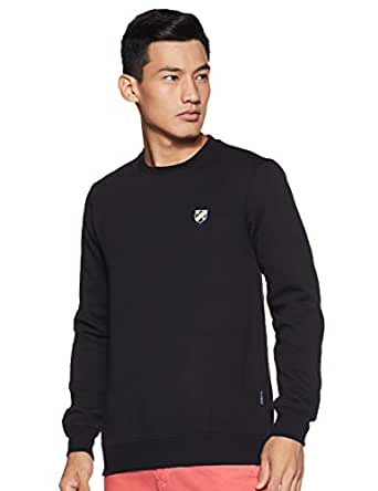 Amazon Brand - House & Shields Men's Sweatshirt (AW19-HSS-17_Jet Black_M)