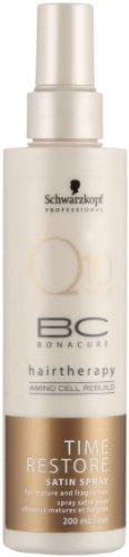 Schwarzkopf Professional BC Bonacure Q10 Plus Time Restore Satin Spray 200ml - Satin Spray