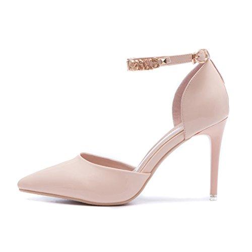 XTIAN , Escarpins pour femme rose bonbon