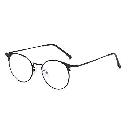 Sonnenbrillen Mode Persönlichkeit gegen die Blaue Brille Sonnenbrillen Männer und Frauen Typ Rahmengläser verhindern blaues Licht LUE Shading Brille für Studenten/Büroangestellte