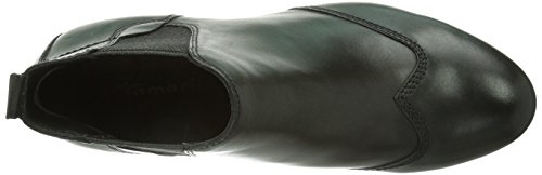 Tamaris 25353 Damen Chelsea Boots Schwarz (Black Antic 002)