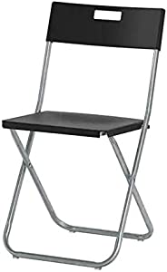 Folding chair, black
