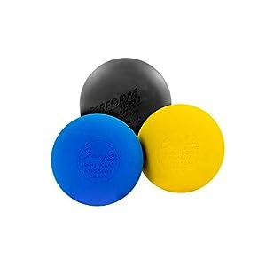 Perform Better Lacrosse Ball – Massageball, Gelb, Blau, Schwarz