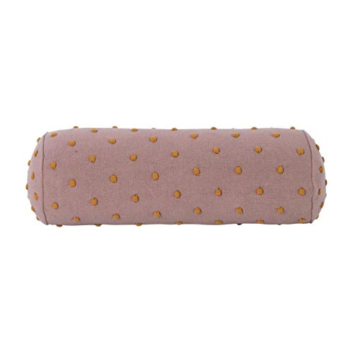 Ferm Living Kissen Rolle Popcorn Staubig Rosa 50cm