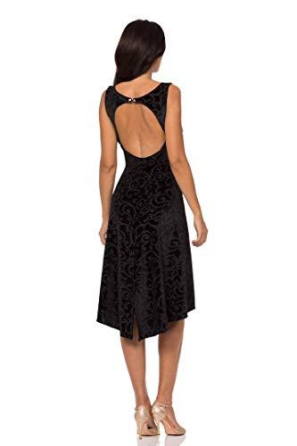 a51c8130d353 ABITO ARTEMISIA VELLUTO. Abbigliamento donna da sera e da tango. Evening    Tango dress