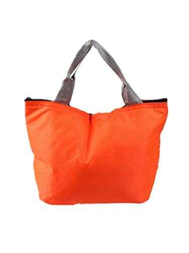 h Tasche Tote Isolierte Kühltasche Lunchpaket Wasserdichte Lunch Bag Wiederverwendbare Lunchbox Mittagessen Beutel Tasche Einkaufstaschen ()