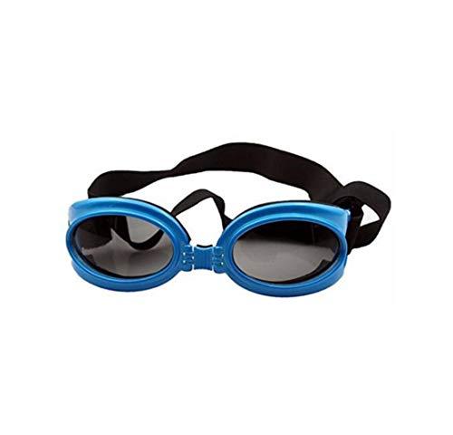 Yslin Hochwertige Coole Sonnenbrillen für Hunde Augenpflege für Hunde Wasserdicht Moderner Atmungsaktive Brille Lässig Heimtierbedarf
