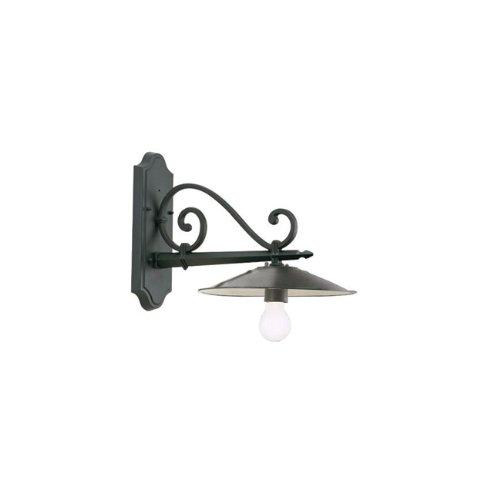 Applique in basso design antico lampada da parete grigio