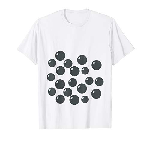 Kostüm Boba Tee - Süße Boba Tee Shirt Lustige Bubble Tee Kostüm Halloween T-Shirt