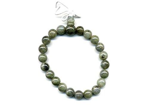 Mala Tibetan 21 granulate Power Bracelet Labradorite rolls 8 mm …