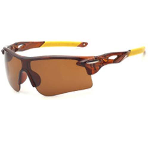 xinrongqu Sonnenbrille - Fahrer Nachtsichtbrille Sportspiegel Sonnenbrille Reitbrille Tee Rahmen Tee