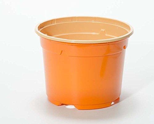 Pot horticole DUO 19 cm orange (x 25)