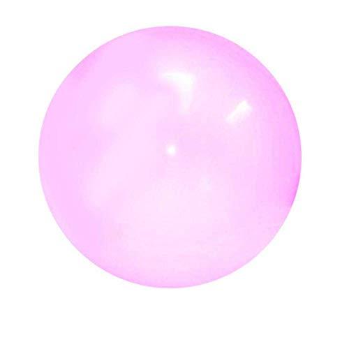 LNIMIKIY Strandball, für Kinder, aufblasbar, Spaß, Sport, weiches Spielzeug, Pool-Erwachsene, transparent, schwimmt spielend, Hüpfballon