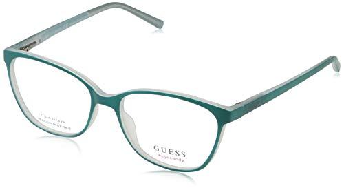 Guess Unisex-Erwachsene GU3008 095 51 Brillengestelle, Grün (Verde Chiaro),