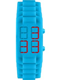 Jacques Lemans Unisex-Armbanduhr  Digital Quarz Silikon 374L