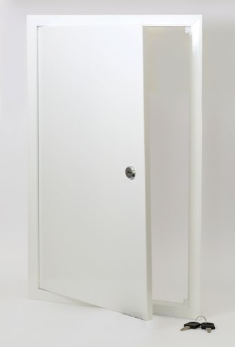 Access Panels UK - Trampilla de registro (cerradura con llave, metal, 600 x 600 mm)