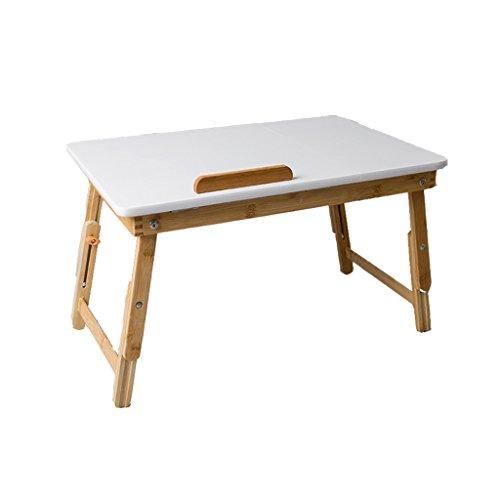Table de bureau pliante portable Table pliante mobile paresseux Table de chevet mini étudiant Table pliante