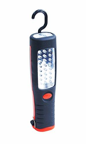 Max-Power B29884 Lampada/Torcia da Lavoro a 24 e 6 LED