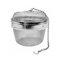 """New Twist-Lock Spice Ball Tea Infuser Herb Infuser, Stainless Steel, Extra Large Size (4 Å' x 3 Å"""""""
