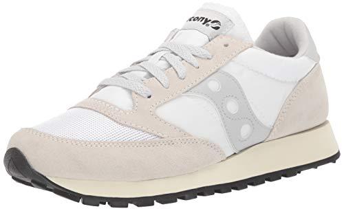 Saucony Herren Jazz Original Vintage Sneakers, Weiß White 75, 45 EU -