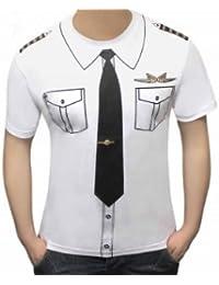 MyMixTrendz - Hommes Pimp écolier irlandais Docteur Imprimer T-shirt Costume