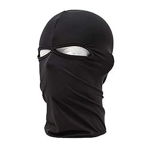 iBaste Outdoor Sturmmaske Motorrad Maske Multifunktionstuch Balaclava Motorcycle Gesichtsmaske Fahrrad Winddicht Maske für Herren Damen Fleece Thermische Skimaske
