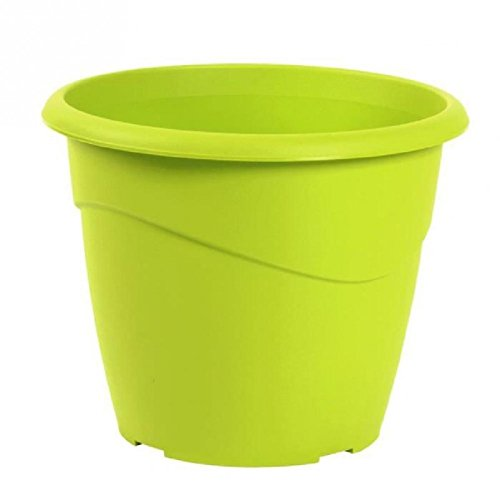 EDA Pot rond non percé Marina Ø 30cm - Contenance 10l - Vert pistache