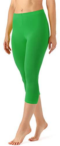 Merry Style Damen Leggings 3/4 MS10-144(Grün, 38 (Herstellergröße: M))