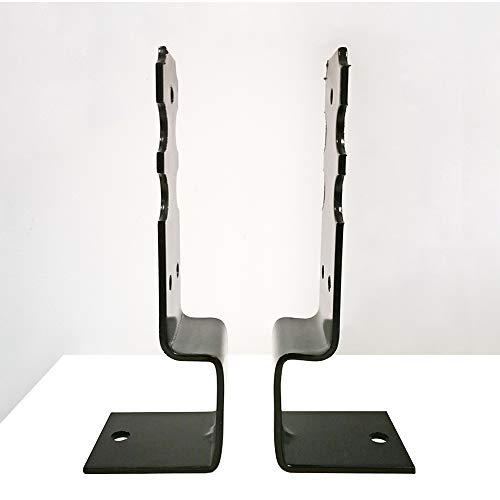 Pfostenträger verstellbar U-Form verzinkt 60-165 mm