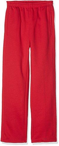 Urban Kids Jungen Sporthose Kids Sweatpants, Rot (Red 199), 164 (Herstellergröße: 14)