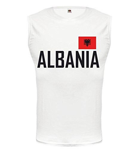 buXsbaum® Tank Top Albanien White-