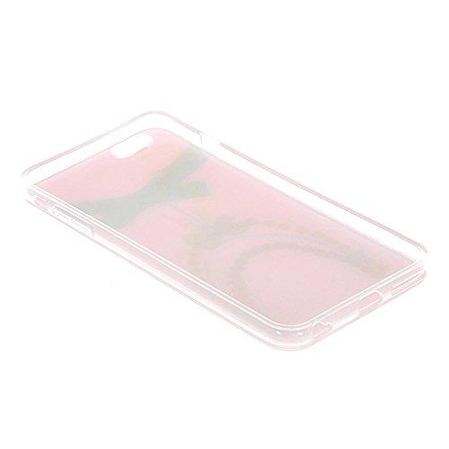 MOONCASE Modèle Mignon TPU Silicone Housse Coque Etui Gel Case Cover Pour Apple iPhone 6 Plus A16206