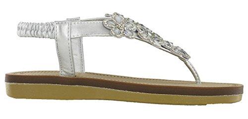 Savannah - Strap alla caviglia donna Silver