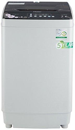 Haier 7.2 kg Fully-Automatic Top Loading Washing Machine (HWM72-718N, Grey)