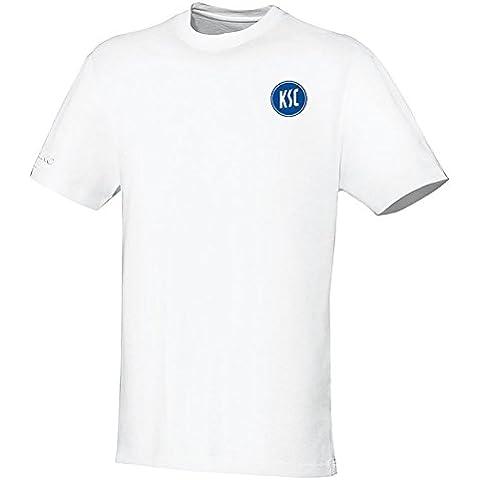 Jako Karlsruher SC T-Shirt Team bianco