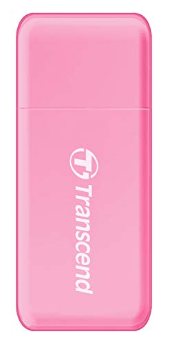 Transcend USB 3.0 / 3.1 Gen 1 Multifunktionskartenleser TS-RDF5R, rosa