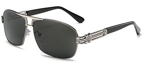 AORON Fahren polarisierte Aviator Sonnenbrille für Herren 100% UV-Schutz