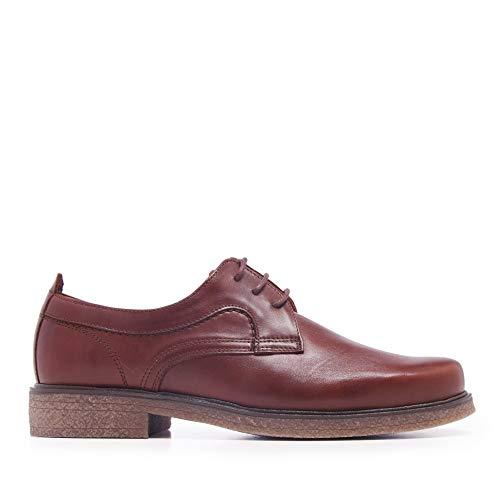 Castellanísimos Zapato Blucher Piel Hombre Marrón