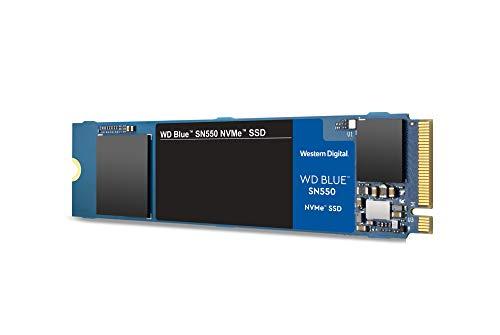 WD Blue SN550 500 GB alto rendimiento M.2 Pcie NVMe SSD
