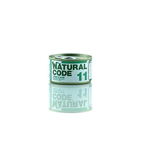 NATURAL CODE 11 Cat Thunfisch Aloe Wet Cat Futter Premium (Code Natural)